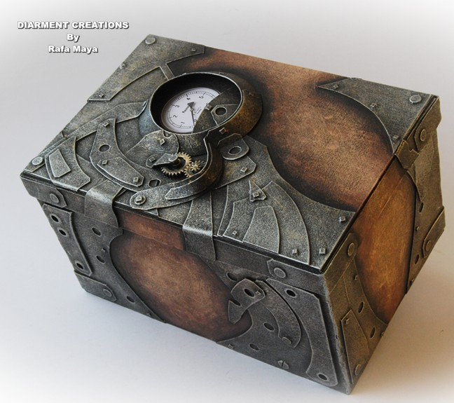 Steampunk Magic Box By Diarment On DeviantArt
