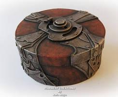 Steampunk Round Box by Diarment