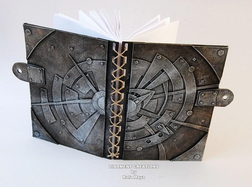 Metal Sun Notebook