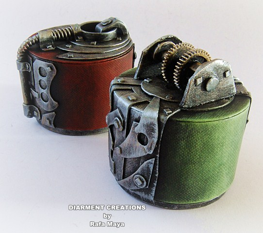 Steampunk Jewelry box 23 by Diarment on DeviantArt