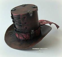 Steampunk Mini Top Hat by Diarment