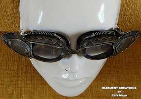 Steampunk Goggles by Diarment