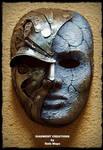 Steampunk Metal Stone Mask