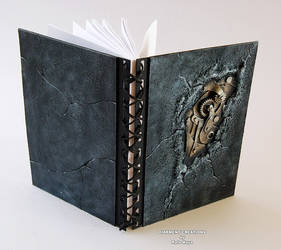 Notebook Stone Metal by Diarment