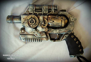 Steampunk Ray gun 2 by Diarment