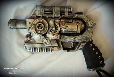 Steampunk Ray gun 2