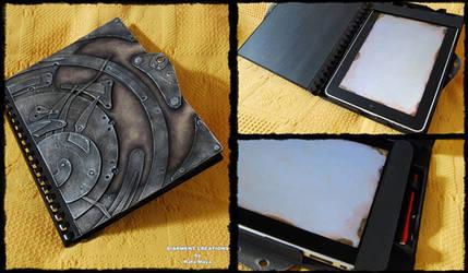 Steampunk Ipad case by Diarment