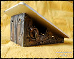 Steampunk Stand for tablet Diarment