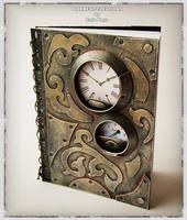 Steampunk Notebook Cabaret by Diarment
