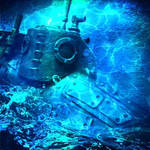 Steampunk submarine -Shoe-