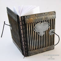 Notebook Metal Plates by Diarment