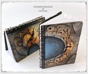 Steampunk sketchbooks