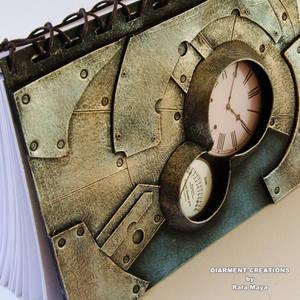 Steampunk Notebook Metal Fantasy 5
