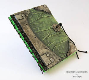 Notebook Green