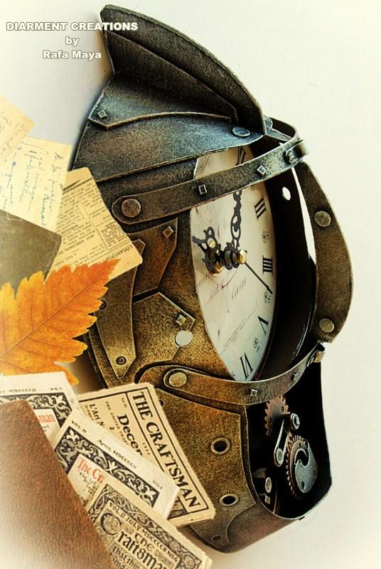 Steampunk Clock XXIX by Diarment