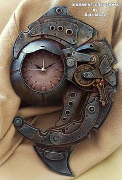 Steampunk Clock Spiral