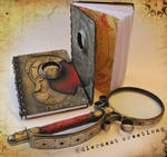 Steampunk Notebooks New