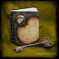 Notebook Vitruvian Man by Diarment