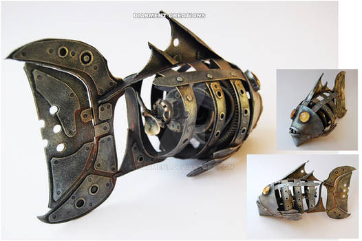 Steampunk Fish by diarment