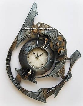 Steampunk Spiral Time