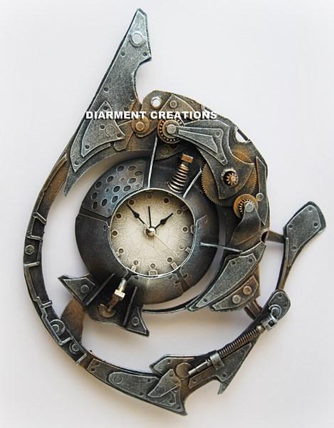 Steampunk Spiral Time