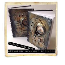 Steampunk Mechanic Notebook by Diarment