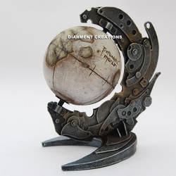 Steampunk Globe Lost Planet