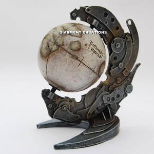 Steampunk Globe Lost Planet
