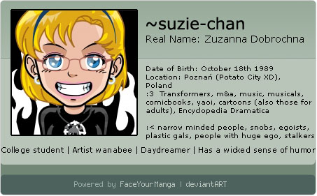 suzie-chan's Profile Picture