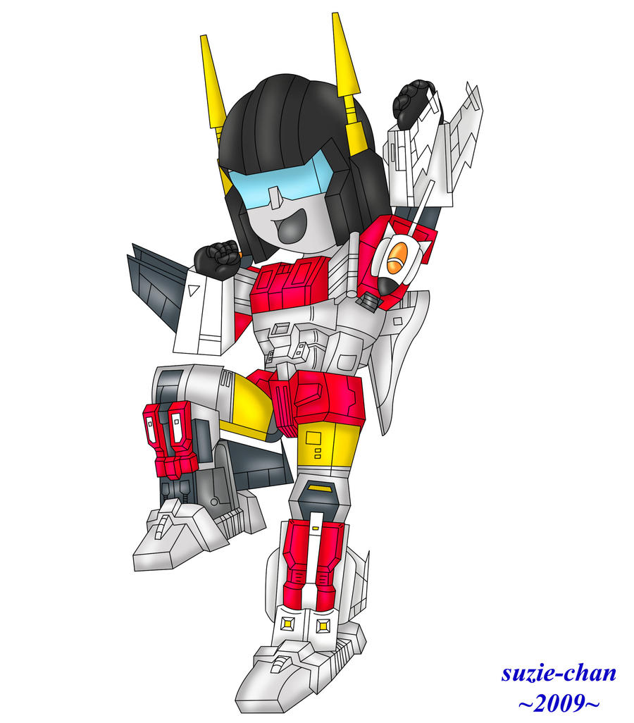 Request - Chibi Superion by suzie-chan