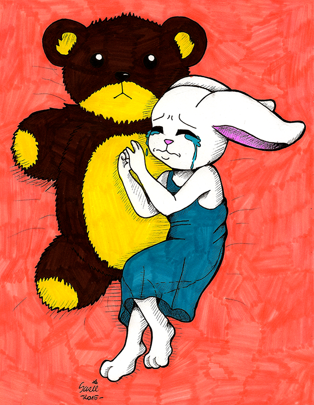 Sad Bunny by suzie-chan