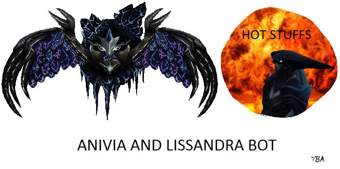 LoL: Anivia and Lissandra bot montage Thumbnail by TBACreepyMilk
