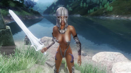 My Modded Oblivion Chocolate Elf Her-She by Implicit-Bookcarrier