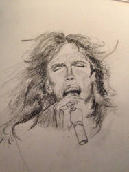 Steven Tyler Sketch by PaintedLiLy