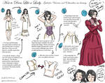 how to dress like a lady.