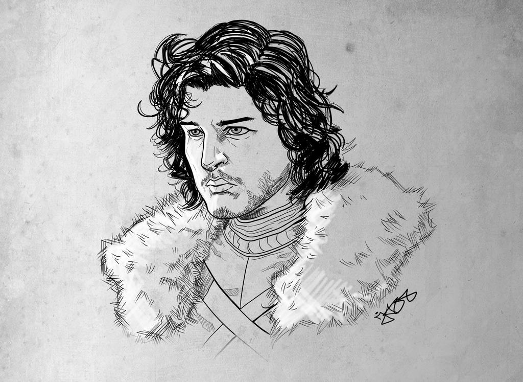 john snow by jazzdelacuesta