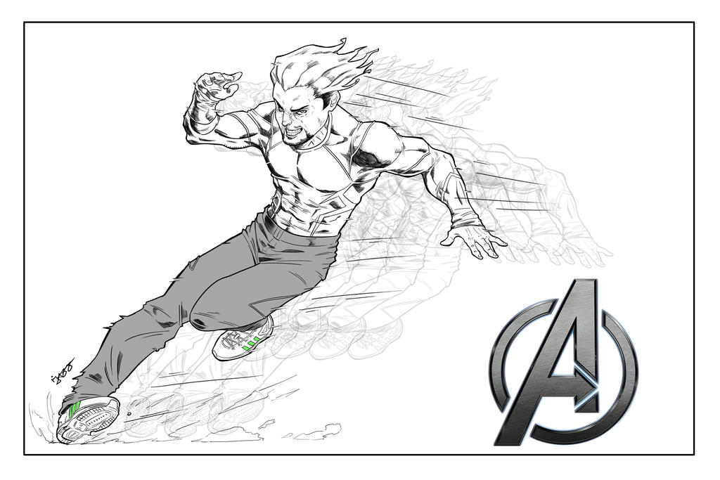 Quicksilver Coloring Pages : Quicksilver coloring pages kidsnfun co uk