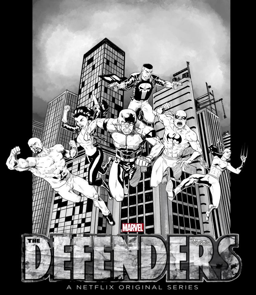 THE DEFENDERS by jazzdelacuesta