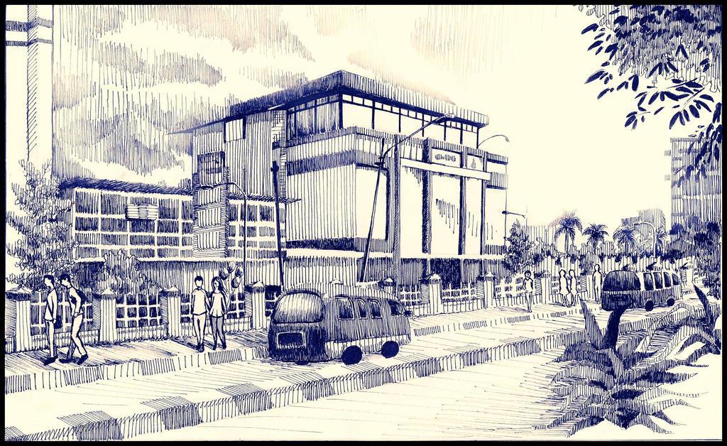 Jalan Merdeka Palembang by meLzone