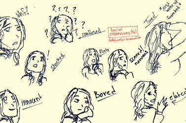 Facial Expressions by Dontbelievefool