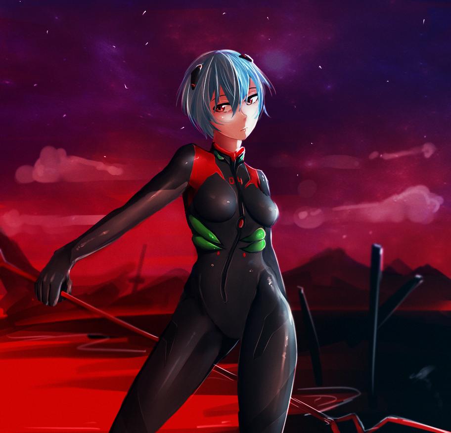Ayanami Rei by OrekiFag