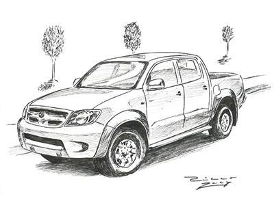 Toyota Hilux by judge-design on DeviantArt