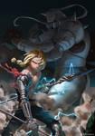 Fullmetal Alchemist by whoareuu