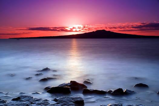 Rangitoto Dawn