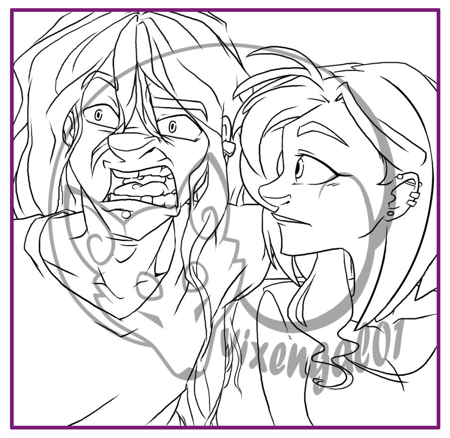 SnapChat Harrassment_image 1 WIP by vixengal01