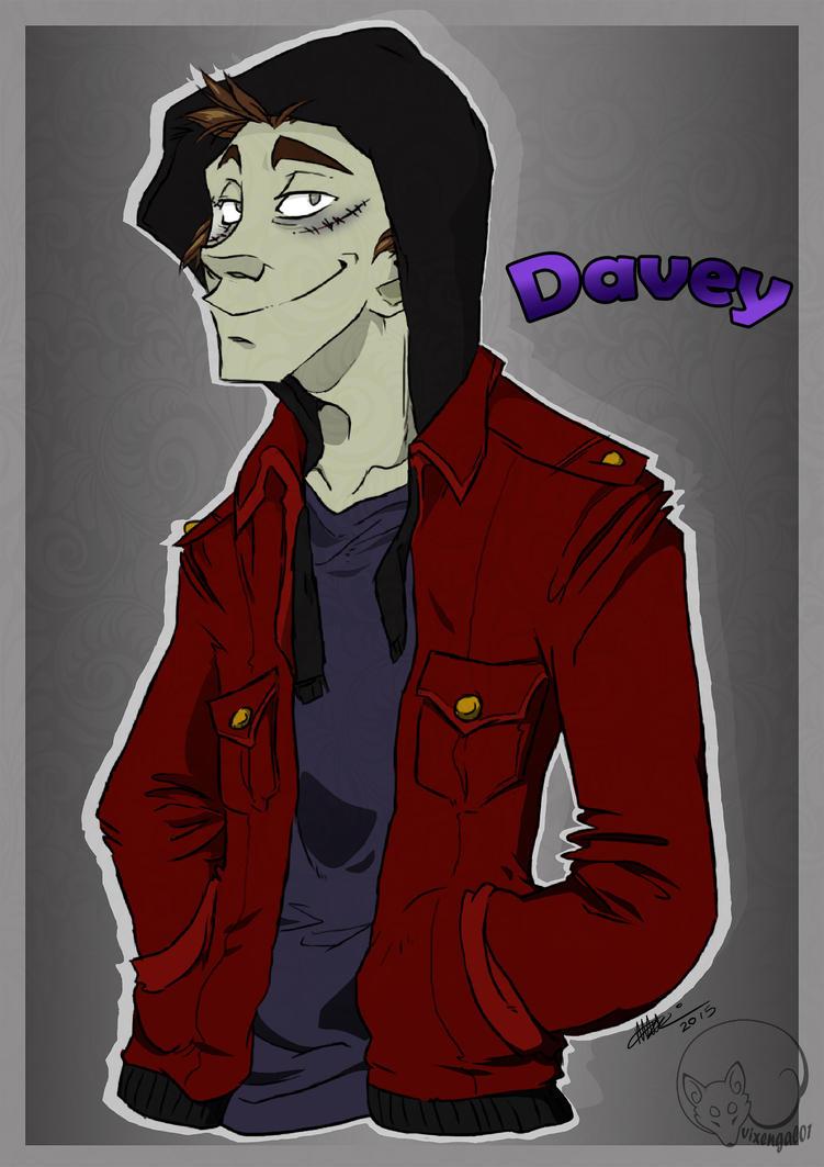Davey 'Sexbomb' Jones by vixengal01