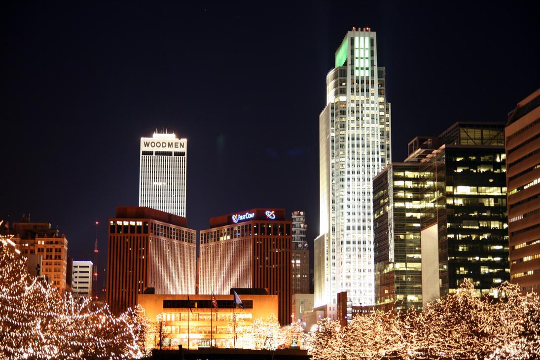 Omaha Lights By Woberttodd