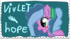 Vivlet hope [stamp] by thedutchbrony