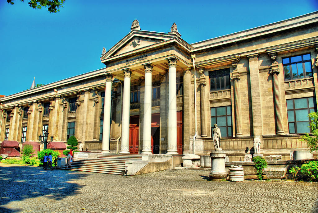 Istanbul Archaeology Museum by ssonmez