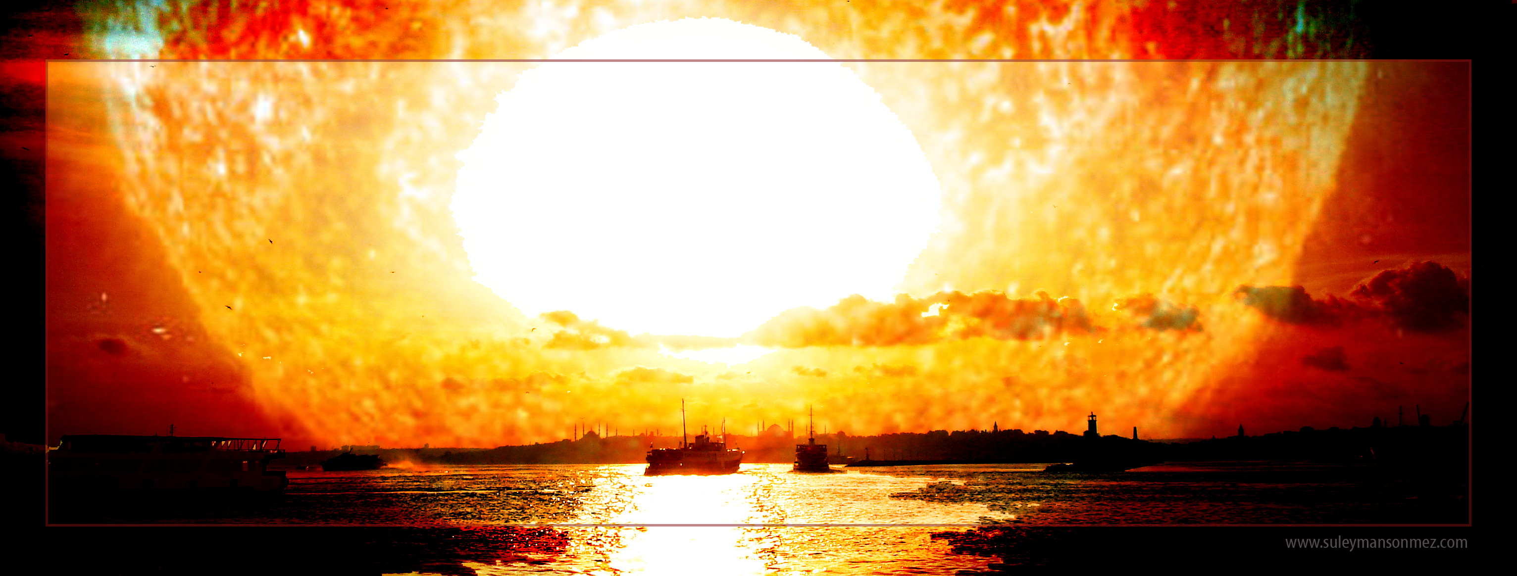 Istanbul Into The Sun by ssonmez